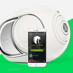 Spotify Connect voor Devialet Phantom