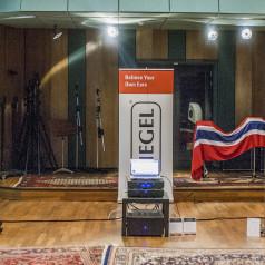 KEF presenteert Q-Serie in Wisseloord Studios