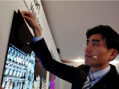 Nieuwe oled-tv van LG werkt als behang