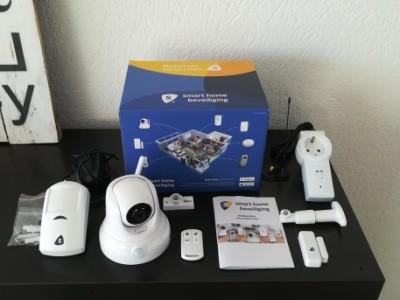 Review: Smart Home Beveiliging – 360 graden camera en accessoires
