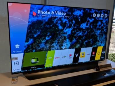 Verslag: LG toont nieuwigheden voor 2018 televisies