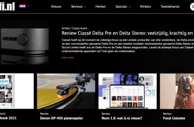 Redesign HIFI.NL - in vorm en stijl, maar niet in toon of inhoud (dus niet schrikken!)
