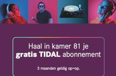 Codes voor 3 maanden gratis TIDAL op Dutch Audio Event