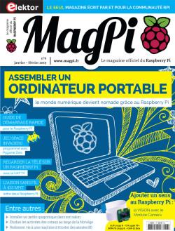 MagPi N° 6 : janvier/fevrier 2019