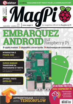 MagPi N° 4 : septembre-octobre 2018