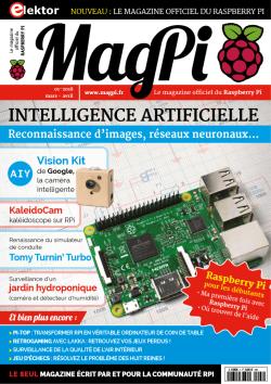MagPi N° 1 : mars-avril 2018