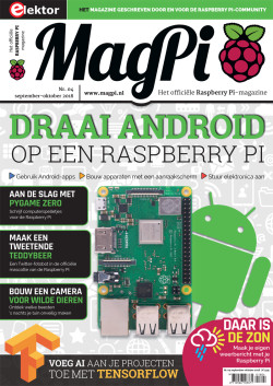 MagPi 4 - september/oktober 2018