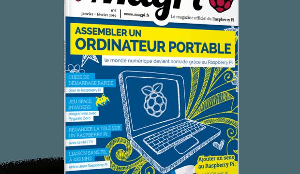 Parution du sixième numéro du MagPi (janvier-février 2019)