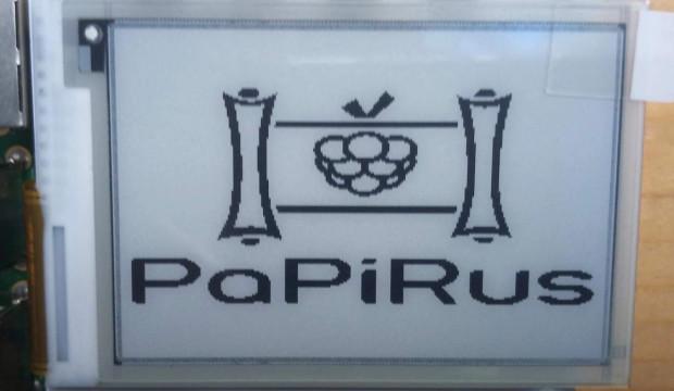 Review: PaPiRus ePaper Screen HAT voor de Raspberry Pi