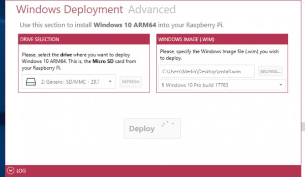 Windows 10 op de Raspberry Pi 3B+