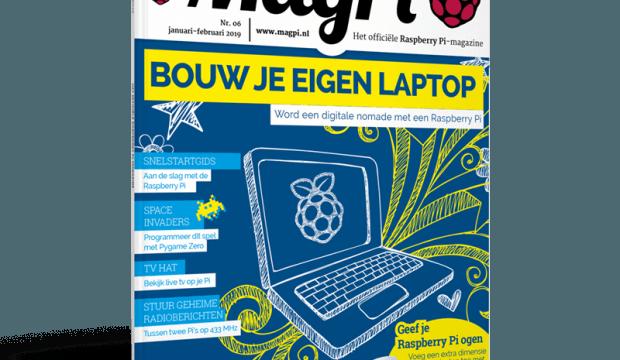 Zesde Nederlandse MagPi verkrijgbaar