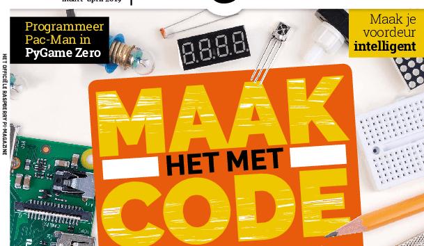 Zevende Nederlandse MagPi verkrijgbaar