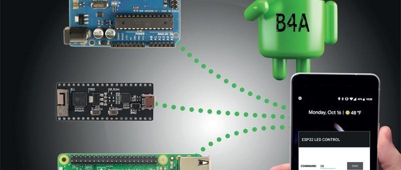 Leer mobiele apps ontwikkelen voor de Raspberry Pi, Arduino of ESP32