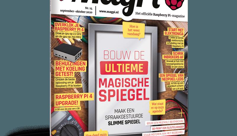 Alles over magische spiegels in MagPi 14