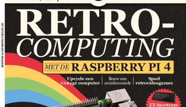 Ontdek retrocomputing met de Raspberry Pi 4 in MagPi 13