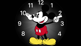 Mickey Mouse-wijzerplaat verschenen voor Android Wear