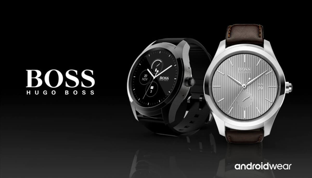 Hugo Boss betreedt smartwatch-markt met Touch met Android Wear 2.0
