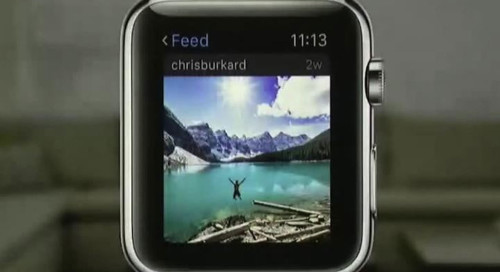 Instagram trekt stekker uit Apple Watch-applicatie