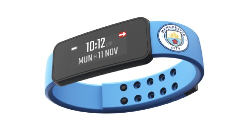 Fantom smart band voor Manchester City-fans