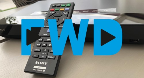 FWD Weekly update: Betaalbare Ultra HD Blu-ray-speler en alles over smart displays