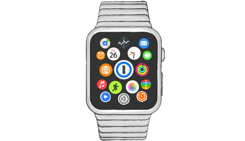 1Password krijgt Apple Watch-app
