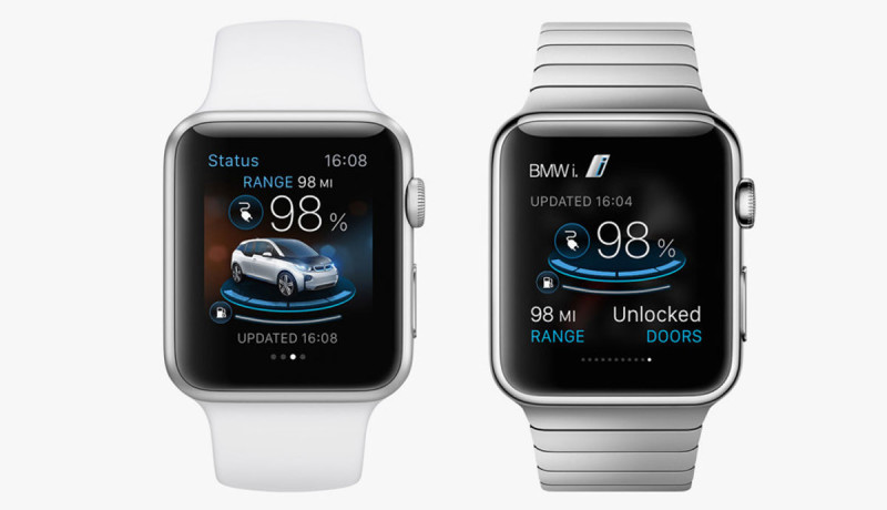Spelen met je BMW of Porsche via de Apple Watch