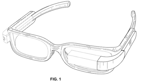 Google Glass-patent duikt op, toont nieuw design