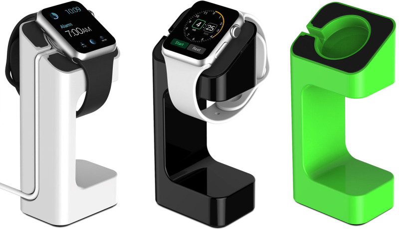 'Third-party Apple Watch-docks krijgen geïntegreerde oplader'
