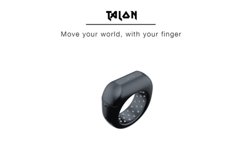 De Talon is de eerste smartring gamecontroller