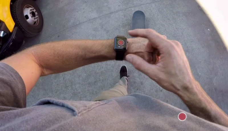Bedien je GoPro met een Apple Watch-applicatie
