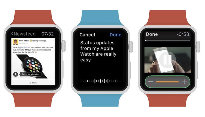 Third-party app Littlebook brengt Facebook naar Apple Watch