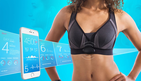 Hera Training is een slimme bh die persoonlijke workouts creëert