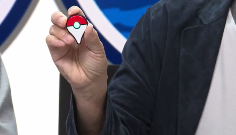 Pokémon Go Plus-wearable gaat 35 dollar kosten