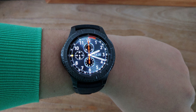 Review: Samsung Gear S3 smartwatch (Frontier)