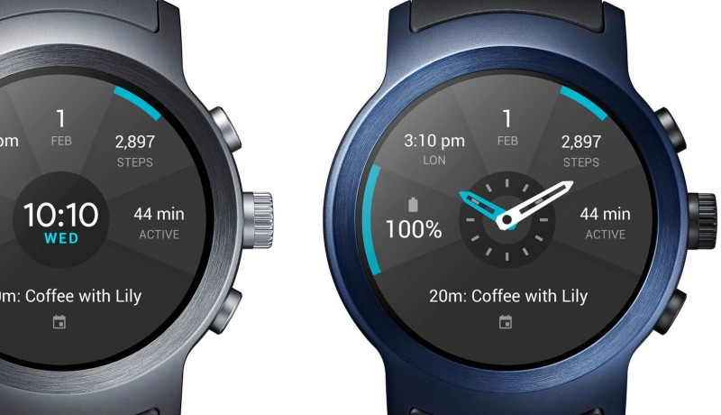 Google lanceert LG Watch Style en Watch Sport, de eerste Android Wear 2.0 horloges