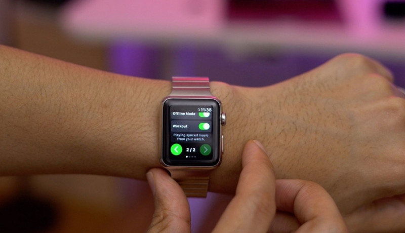 Apple Watch krijgt onofficiële gratis Spotify-app, genaamd Spotty