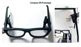 Microsoft-onderzoekers onthullen prototype van augmentedrealitybril