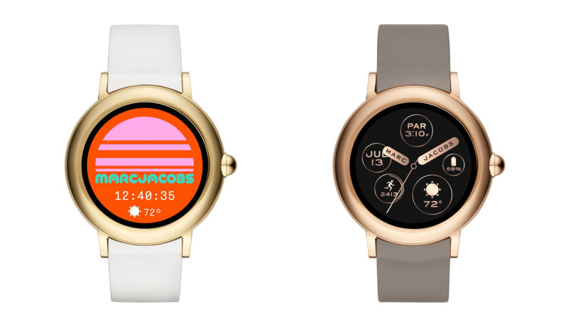 Marc Jacobs introduceert eerste collectie touchscreen smartwatches