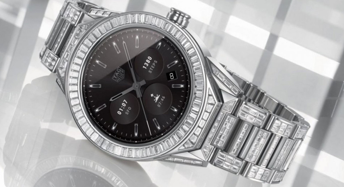 Tag Heuer Connected Full Diamonds is de duurste smartwatch ooit