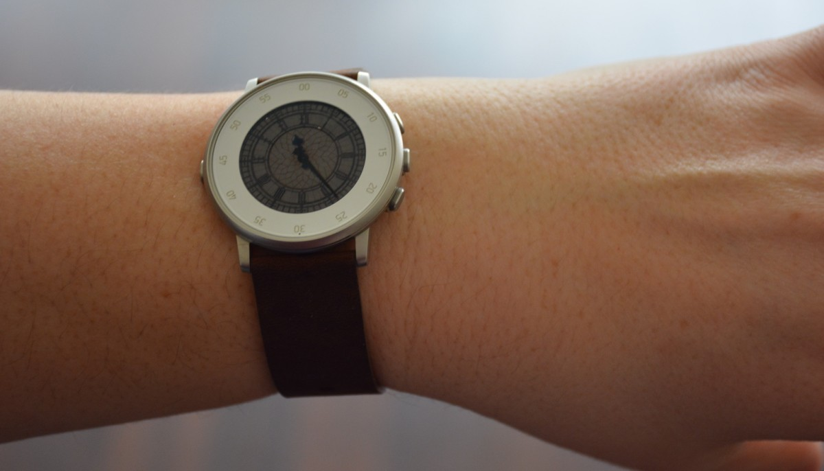 Review: Pebble Time Round