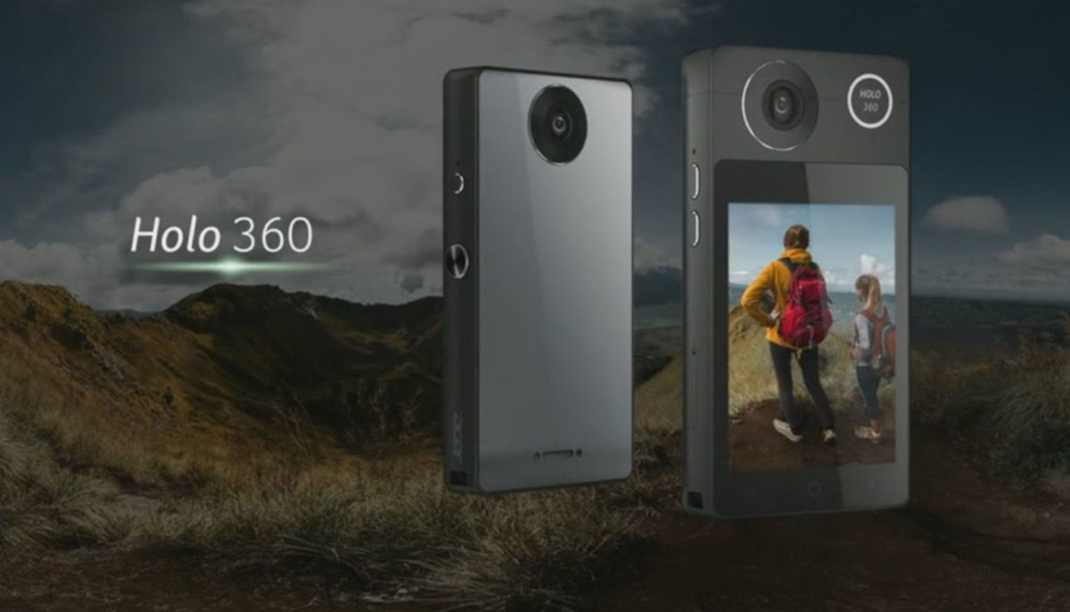 De Holo 360 is de eerste 360-graden-camera van Acer