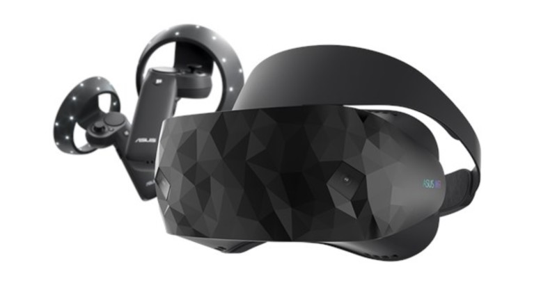 Asus Windows Mixed Reality Headset komt eerste kwartaal 2018