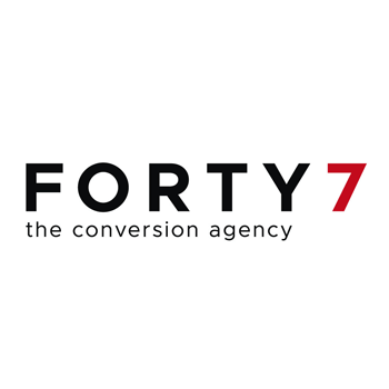 Forty7 is a full support conversion agency with a unique approach to brand- and lead activation.